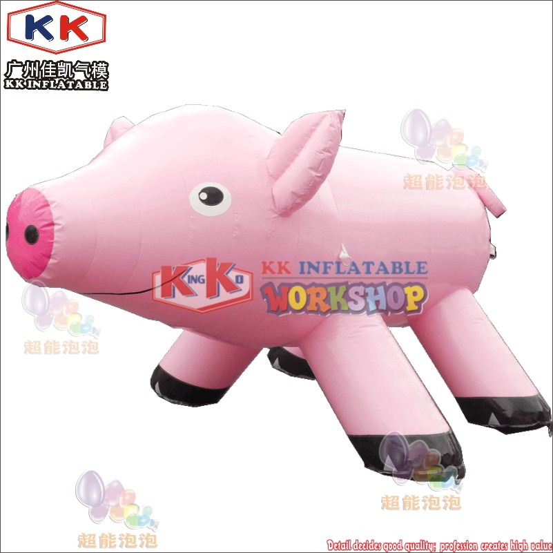 Advertising helium balloon pink giant inflatable flying pig for saleAdvertising helium balloon pink giant inflatable flying pig for sale