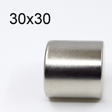 1/2/6 Pcs 30x30 Neodymium Magnet 30mm x 30mm N35 NdFeB Round Super Powerful Strong Permanent Magnetic imanes Disc 30x30 мозаика primacolore crystal gc123sla 1 5x4 8 30x30
