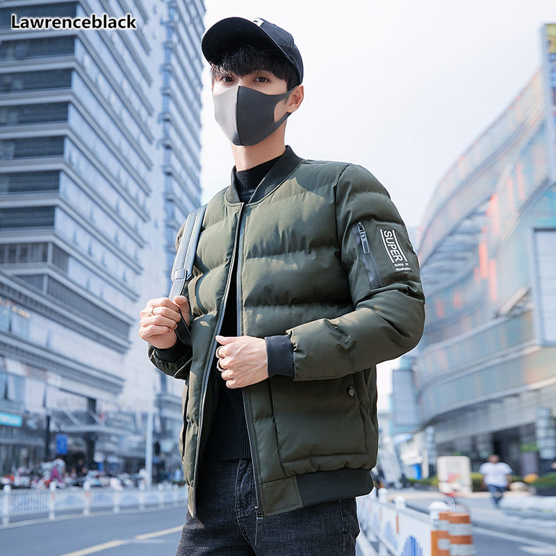 Autumn Winter Warm Mens jackets and coats Cotton-padded Jacket 2018   Parka   Men Brand Clothing Warm Outwear clothes for man 1551