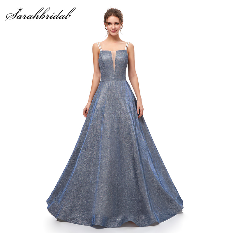 Robe De Soiree 2019 New Arrivals Steel   Prom     Dresses   Simple Actual Strapless Image   Prom   Gowns Real Photos Sexy WT5289