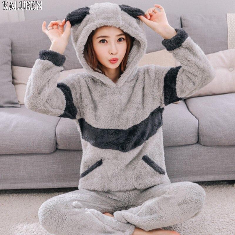 4XL 6XL big size tops Long Women Pajamas Autumn Winter Thickening Flannel Long-sleeve Pullover Sleepwear Coral Fleece Nightgowns