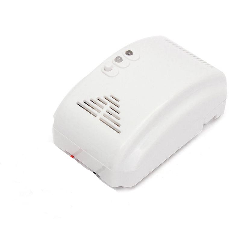 DC12V Security LPG Natural Gas Leak Sensor Detector For Home Kitchen 2