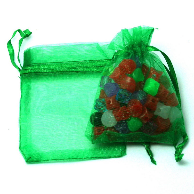 30pcs/lot 7x9cm 9x12cm 10x15cm 13x18cm Drawstring Organza Pouches Jewelry Packaging Bags Wedding Party Gift Bag Jewelry Pouch 6
