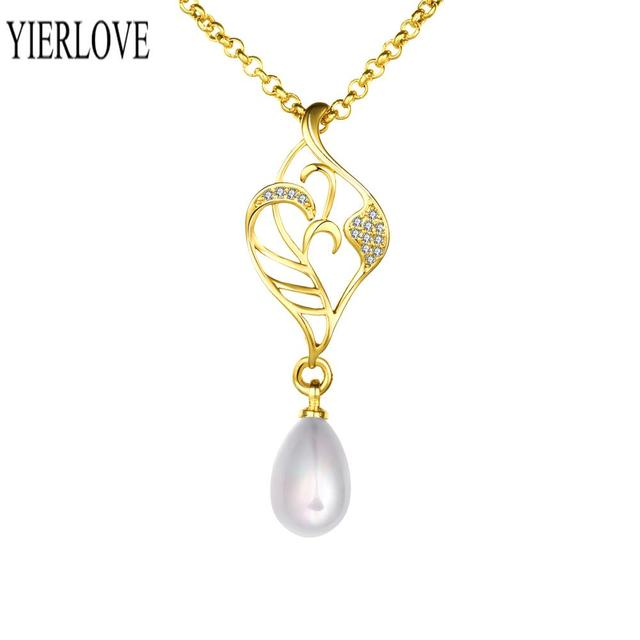 Fashion women jewelry Latest design tradition pearl necklace N015-A