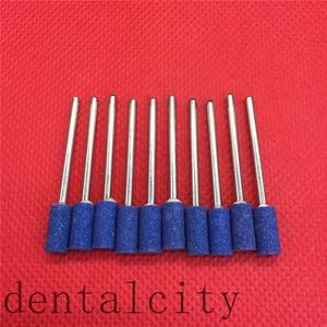 Image 5 - 100 Pcs Cilindro Ghiaia Ceramica di Spessore Montato Point Frese Lucidatore 2.35 Millimetri Dental Strumentazione da Laboratorio