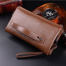 Men's Clutch Leather Wallet