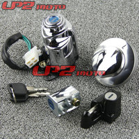 For Honda Shadow 400 750 VT750 Lock 4 Lock motorcycle ignition Switch Lock Key Gas Tank Cap Cover