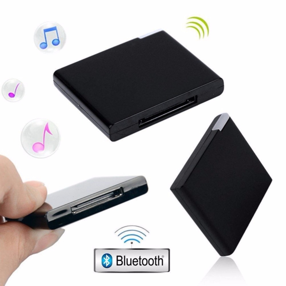 Heißer Stereo Smartphone Adapter Bluetooth V2.0 A2DP Musik Empfänger Adapter für iPod für iPhone <font><b>30</b></font> <font><b>Pin</b></font> <font><b>Dock</b></font> Docking Station Lautsprecher image