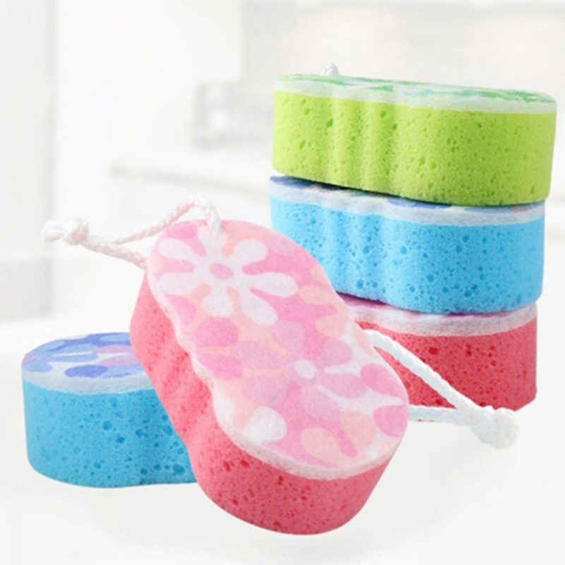 Bath Sponge Massage Multi Shower Exfoliating Body Cleaning Scrubber Cleaning Multi-purpose Environmentally Friendly Brush