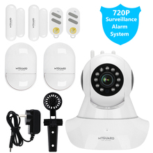 MYGUARD Wireless GSM Home Security Alarm System DIY IOS Android Phone APP Control Video Surveillance Burglar Alarm System Kits цена и фото