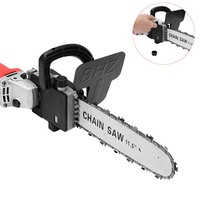 New Upgrade 11.5 Inch Chainsaw Bracket Change 100 Angle Grinder Into M10 Chain Saw Woodworking Power Tool Electric Saw