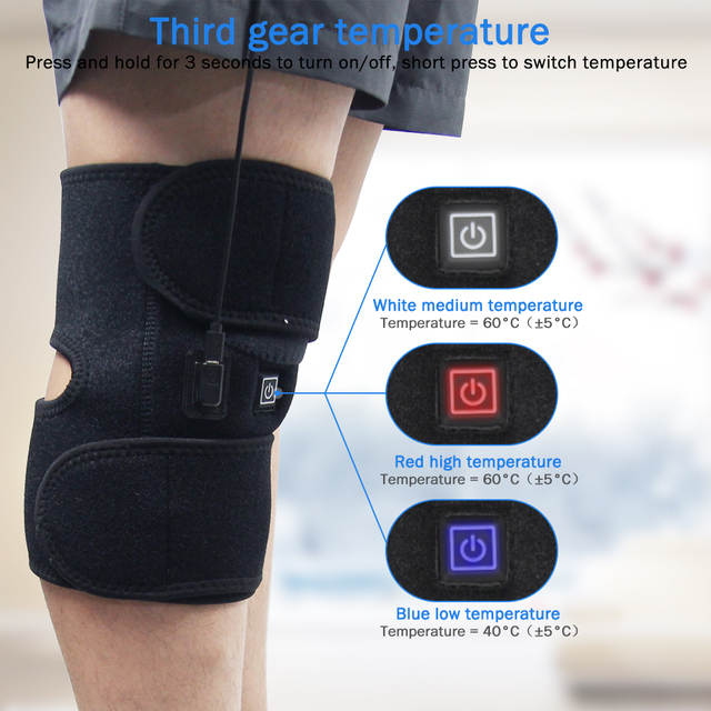 Arthritis knee support infrared he