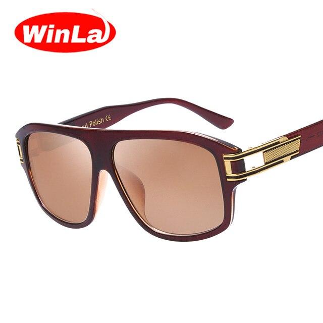 Classic Fashion Square Glasses Gradient Sun Glasses For Men Sunglasses Vintage Women Brand Designer UV400 bp3FfqS
