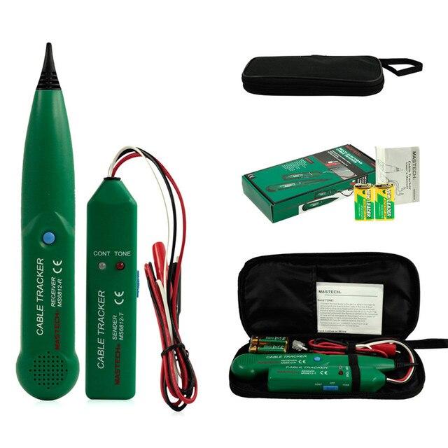 Новый MS6812 Телефон Телефон Сетевой Кабель Провод Линии Rj-трекер Детектор Тестера KK # Y