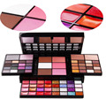 Professional 74 Full Color Makeup Eyeshadow Lip Gloss Palette Brand Cosmetic Shimmer Eyeshadow Blush Make Up Set Kit