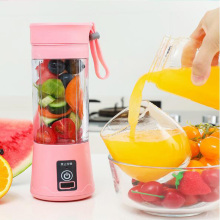 380ml Portable Juicer Blender USB Rechargeable Smoothie Juice Maker Blenders Automatic Mini Automatic Vegetable Fruit Mixer