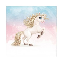 Laeacco Unicorn Colorful Sky Light Bokeh Baby Children Cartoon Scene Photographic Backgrounds Photography Photo Backdrops Studio