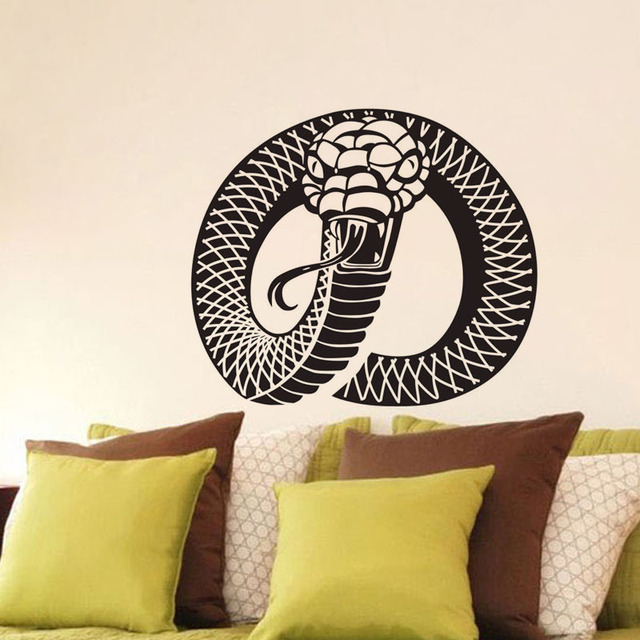 new 2017 home decor wall stickers for bedroom vinyl removable snake