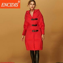 New Fashion Winter Jacket Women thickening Down Coat 2016  New  Medium-long Women jacket Winter Red Winter Coats Parka M319
