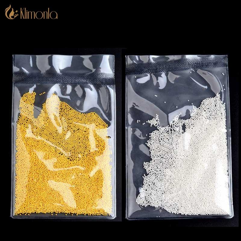 Strass & Dekorationen 50 Gr/paket Metall Gold Silber 3d Caviar Beads Für Nägel Dekorationen Diy Nagel Zubehör Strass Dekorationen Maniküre Werkzeuge Nails Art & Werkzeuge