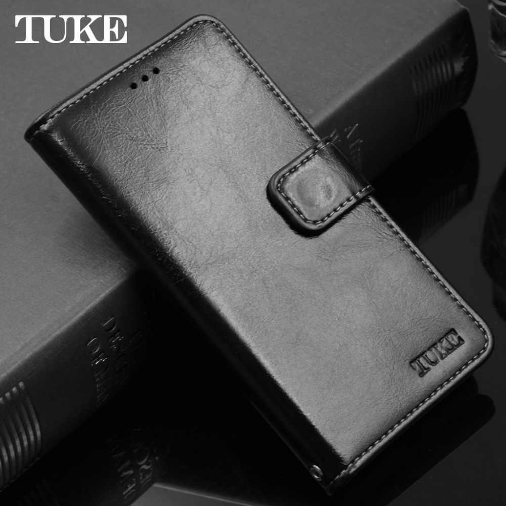 TUKE J3 Pro funda con tapa de piel de cera de aceite funda para Samsung Galaxy J3110 funda de teléfono J3pro funda de silicona para tarjetas fundas traseras