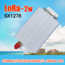 433mhz 2w lora wireless long range radio modem 450mhz uhf transmitter receiver ttl rs485 rs232 lora rf transceiver module цена и фото