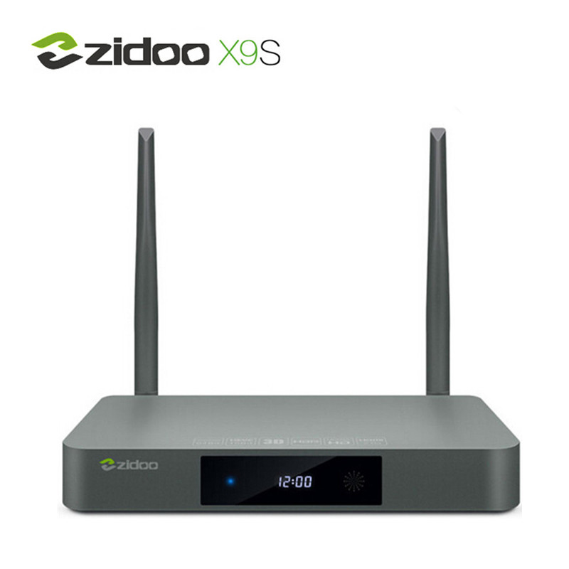 Zidoo x9s android tv box 6.0 realtek rtd1295 quad core 2g/16g HDMI OUT/IN KODI R