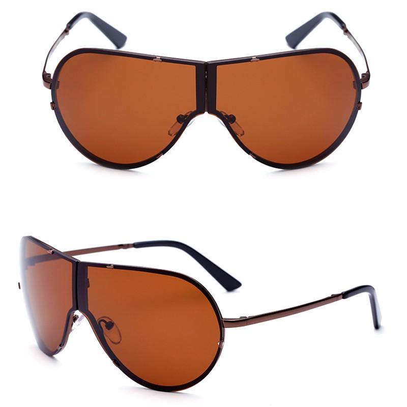 Lager Motorcycle Sunglassses Men Women Oversize Frameless Sunglasses Foldable Glasses Big Moto Goggles 8487 (7)