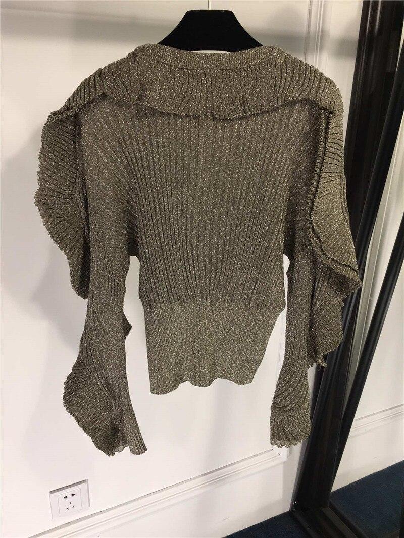 Mujeres Sweater Fomolayime De Jersey Alta Suéteres Primavera Moda 2019 Nueva Pullover vvwq5Z