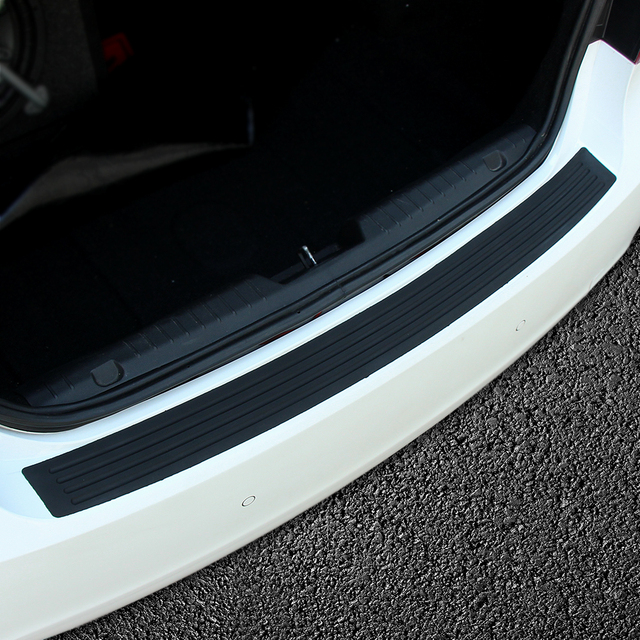 Coche parachoques trasero de desgaste de umbral para KIA RIO K2 K3 K4 K5 Sportage Ceed para Hyundai i20 i30 i35 iX20 Solaris Verna