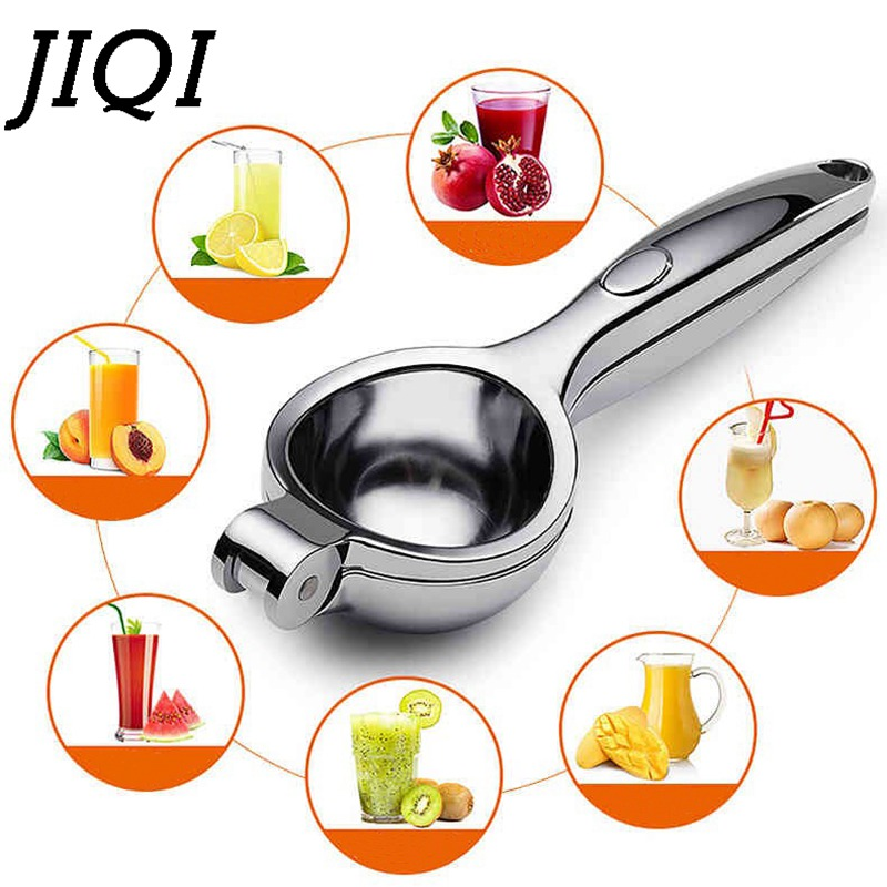 JIQI Manual juicer lemon clip stainless steel color orange juicer baby fruit juice upset pressure household pomegranate juiceJIQI Manual juicer lemon clip stainless steel color orange juicer baby fruit juice upset pressure household pomegranate juice
