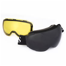8f9812a98b1 Ski Snow Goggles Dual Layers Lens Magnetic Day Night UV400 Skiing Anti-fog  Snowboard Eyewear