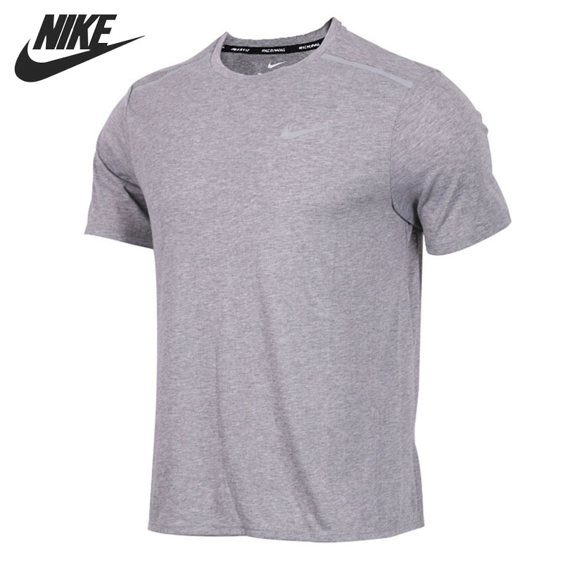 Original New Arrival 2018 NIKE BRTHE RISE 365 TOP Men's T-shirts short sleeve Sportswear cropped wide sleeve top