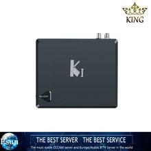 1 Year 1200 channels IPTV K1 KI Android DVB S2 Amlogic S805 Quad Core TV BOX Satellite Receiver Support WiFi CCcam NEWcam KODI