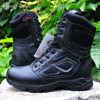 Tactical Boots Lightweight Outdoor Shoes Military Waterproof Breathable Wearable Boots Hiking Desert Combat Boots
