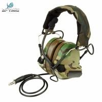 Spor ve Eğlence'ten Taktik Kulaklıklar ve Aksesuarları'de Z taktik Comtac II Gürültü Azaltma Kulaklık Kulaklık Airsoft Paintball Askeri Avcılık Taktik Kulaklık Z041 Multicam