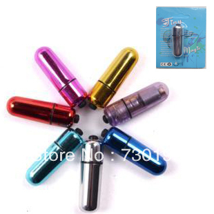 1.3*5.5cm colorful mini wireless bullets, waterproof vibrating nipple clitoris stimulator masturbation sex toy for women s167