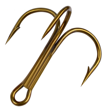 Best No1 Fishing Carbon Steel Treble Hooks Fishing Fishhooks cb5feb1b7314637725a2e7: Black Color|Brown Color|White Color