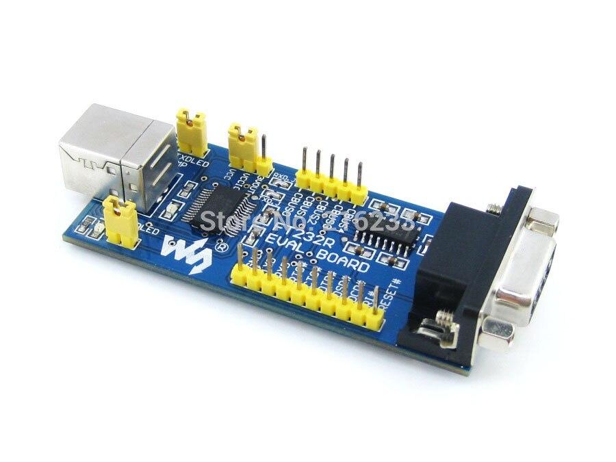 module FT232 EVAL Board FT232R FT232RL Evaluation Development Board Module Kit USB TO Serial UART