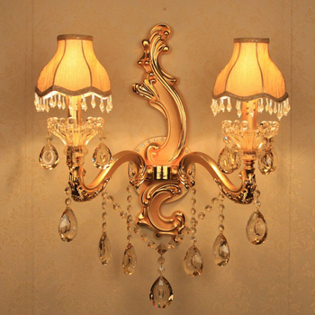 คริสตัลที่ทันสมัยโคมไฟติดผนังกระจกไฟledโคมไฟติดผนังห้องน้ำกระจกตู้กระจกไฟledอลูมิเนียมโคม...
