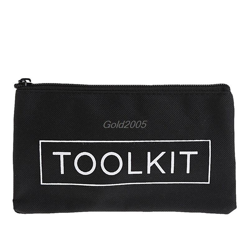 SchöN Wasserdicht 600d Oxford Tuch Werkzeug Tasche Zipper Lagerung Instrument Fall 19x11 Cm G24 Drop Schiff Sparen Sie 50-70% Werkzeuge Werkzeugtaschen