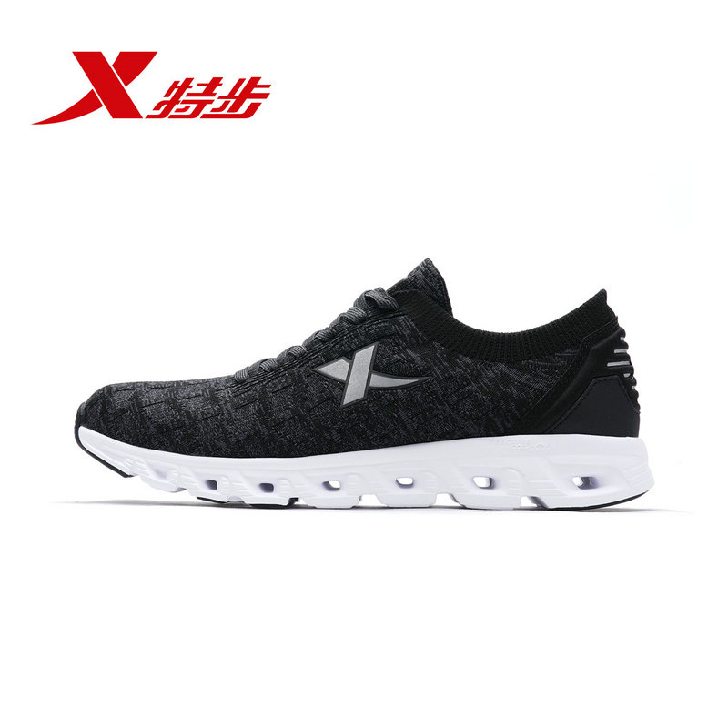 982219119676 Xtep Men running shoe Autumn Breathable Lightweight Shock-Absorbing Mesh Mens Sports Running Shoes982219119676 Xtep Men running shoe Autumn Breathable Lightweight Shock-Absorbing Mesh Mens Sports Running Shoes