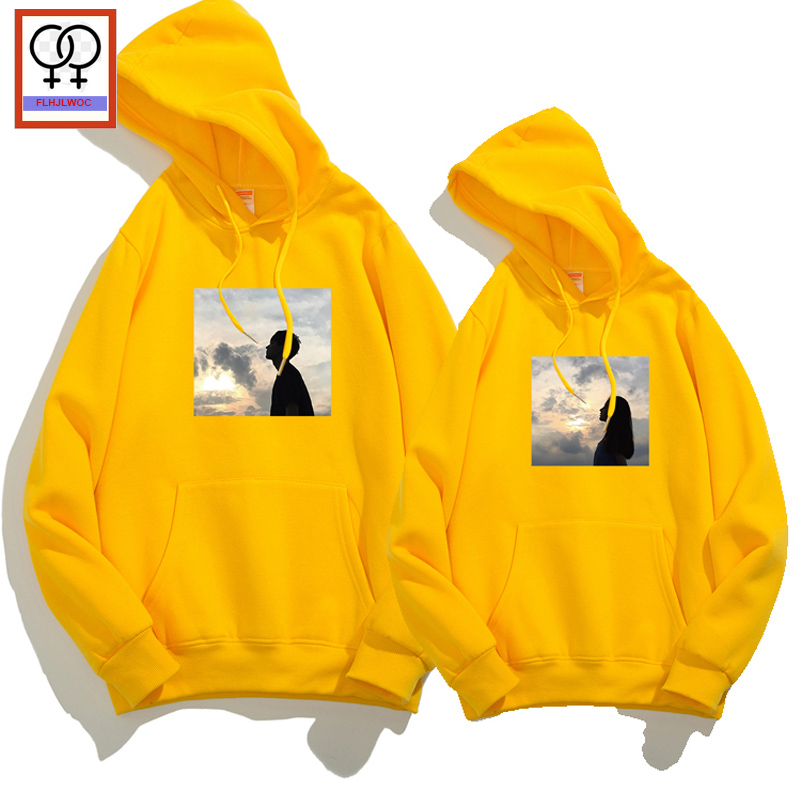 40122ebc7a Detail Feedback Questions about Winter Hoodies Sweatshirts Matching Couple  Clothes Lovers Boyfriend Girlfriend Hooded Top Black White Yellow Couple  Hoodies ...