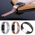 Simplestone Steel Bead Style Bracelet Smart Watch Band Strap For Fitbit Charge 2 (2016) 0205 drop shipping