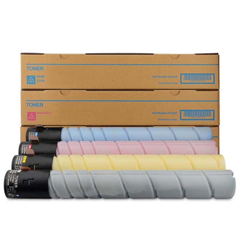 TN324 324 color Toner Cartridge Compatible for Konica Minolta Bizhub C258 C308 C368 258 308 368 Copier,1pcs BK/C/Y/M optional 4 pack high quality toner cartridge for konica minolta bizhub c224 c284 c364 compatible tn321 bk c y m full
