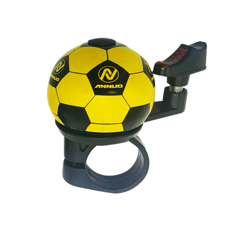 Bicycle Handlebar Bike Bell Soccer Ball Football