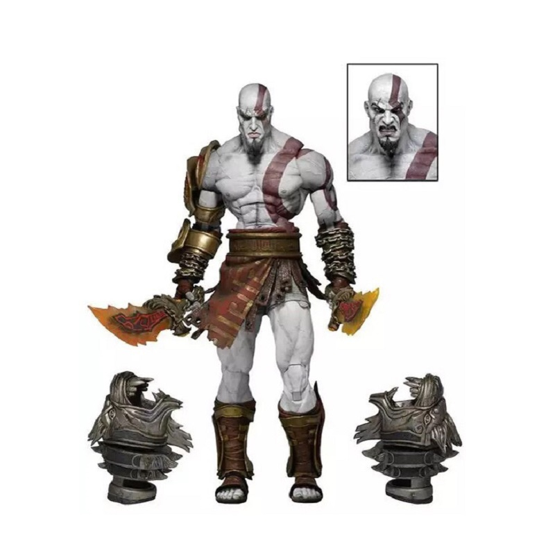 22cm God Of War 3 Kratos PVC Action Figure Toy Anime Ghost Of Sparta Kratos Display Collection Juguetes Children Brinquedos Gift 100% new big size god of war statue kratos gk action figure collection model toy 45cm resin wu691