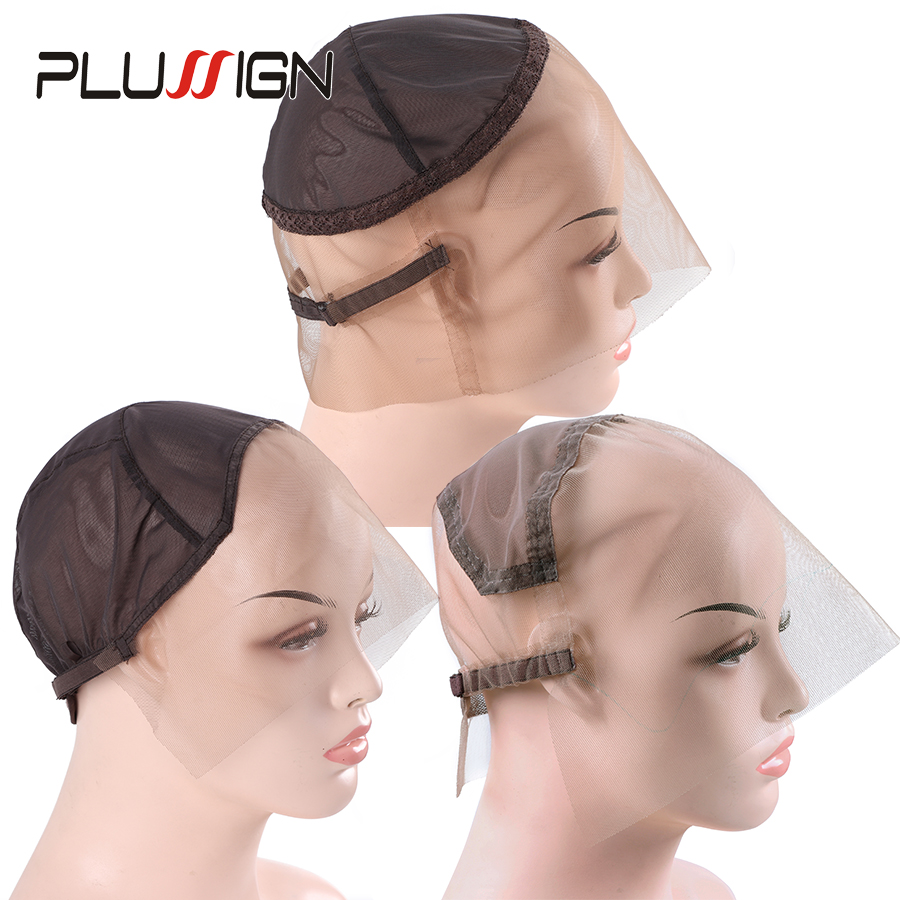 Hair Extensions & Wigs Hairnets Humor Plussign Professional Wig Cap Hair Net 360 Swiss Lace/ Front/ Full Lace Wave Cap Ventilating Wig Making Caps