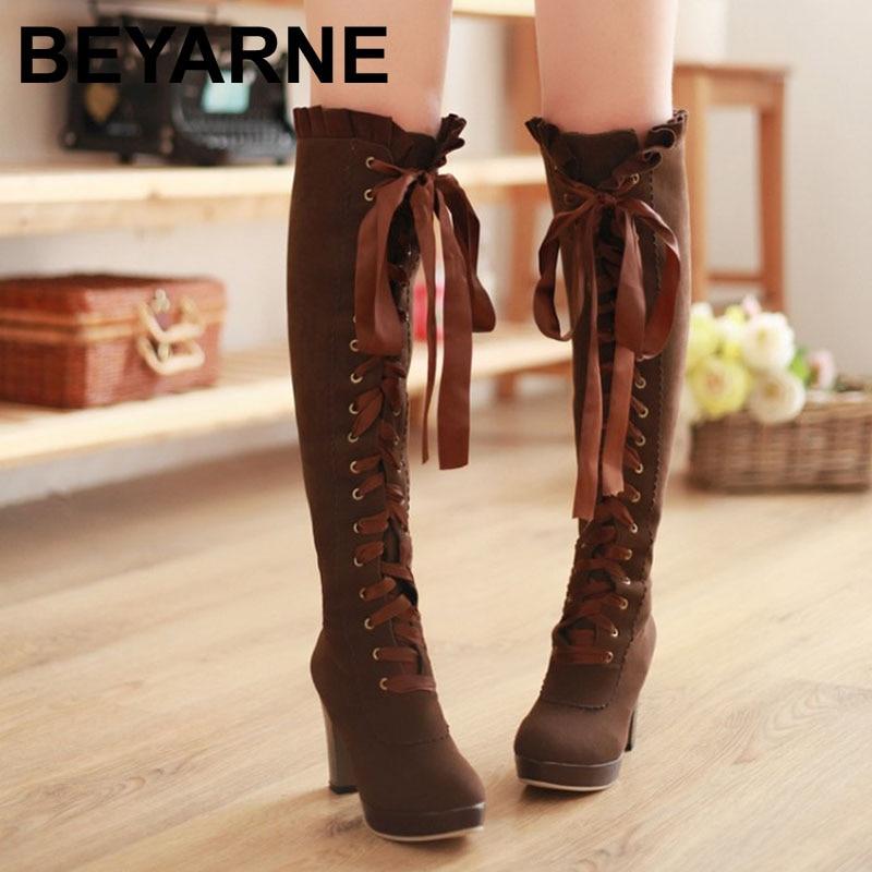 Online Get Cheap Tall Brown Riding Boots for Women -Aliexpress.com