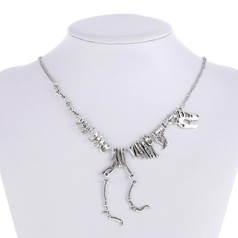T-Rex Charm Pendant Necklace for Women